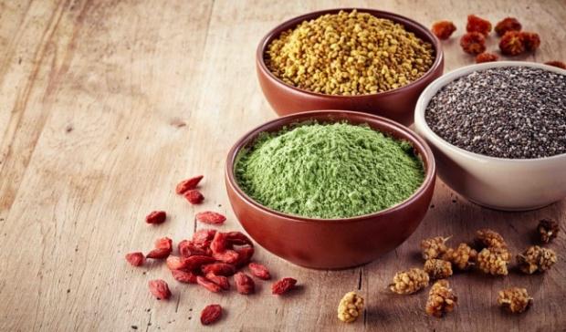 Foods containing fiber