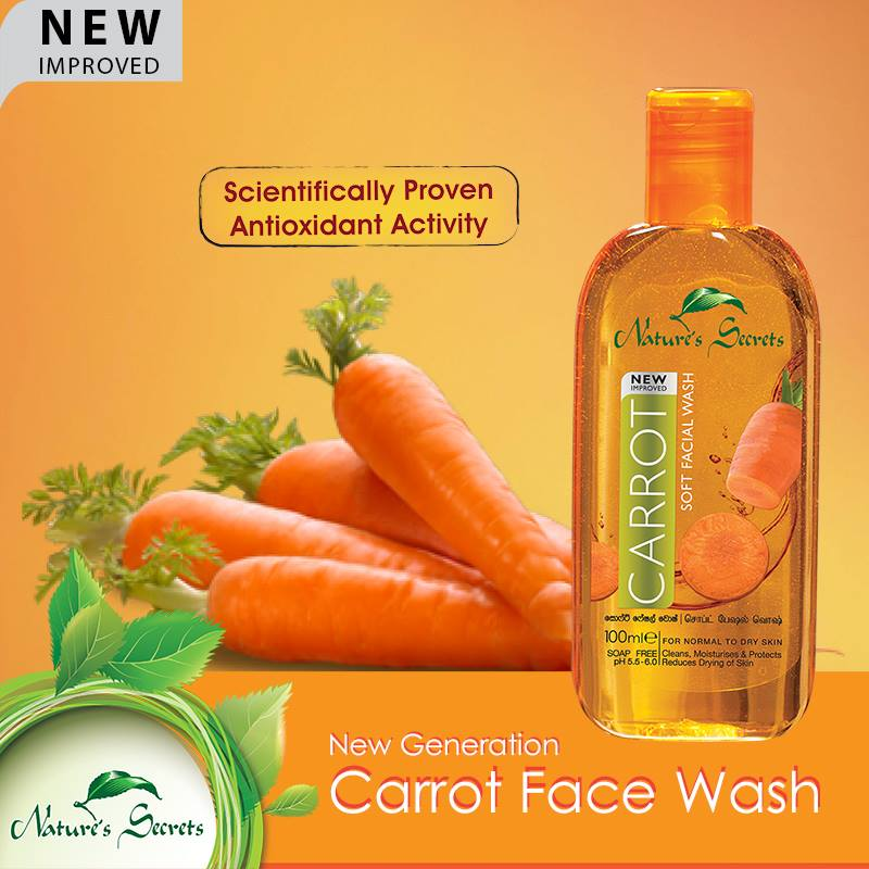 Sữa rửa mặt Carrot Extract Facial Cleansing Gel