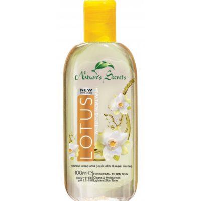 Sữa rửa mặt dưỡng ẩm trắng da Lotus Extract Facial Cleansing Gel 100ml