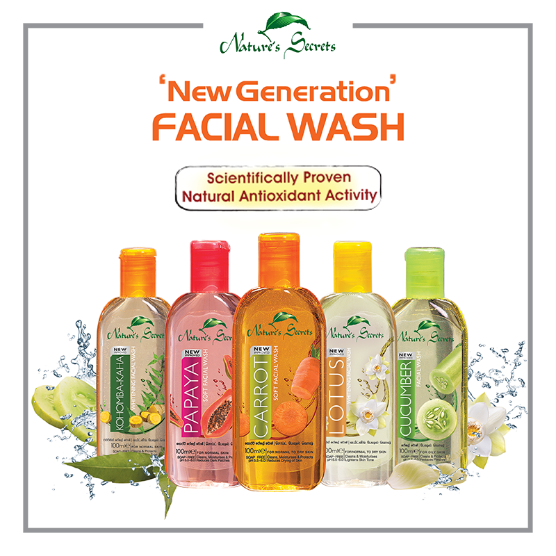 Natures Secrets Facial Wash