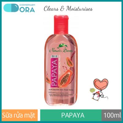 Sữa rửa mặt dưỡng ẩm trắng da Papaya Extract Facial Cleansing Gel 100ml