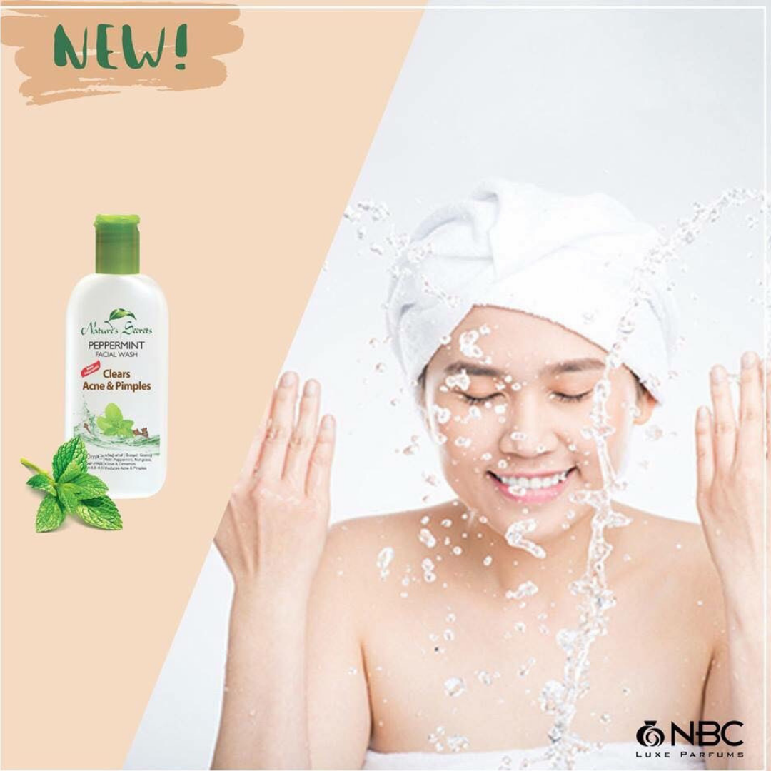 Sữa rửa mặt Peppermint Extract Facial Cleansing Gel