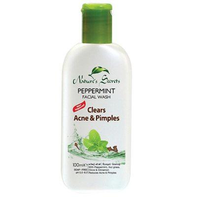 Sữa rửa mặt kháng viêm giảm mụn Peppermint Extract Facial Cleansing Gel 100ml