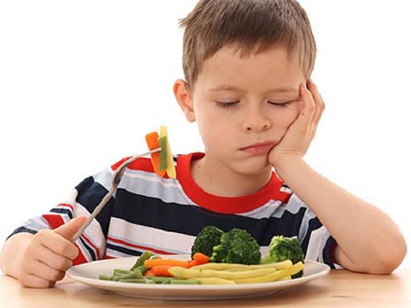 Chứng biếng ăn ở trẻ