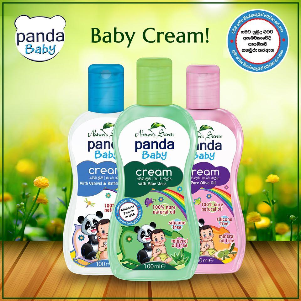 Kem dưỡng da cho bé Panda Baby Cream