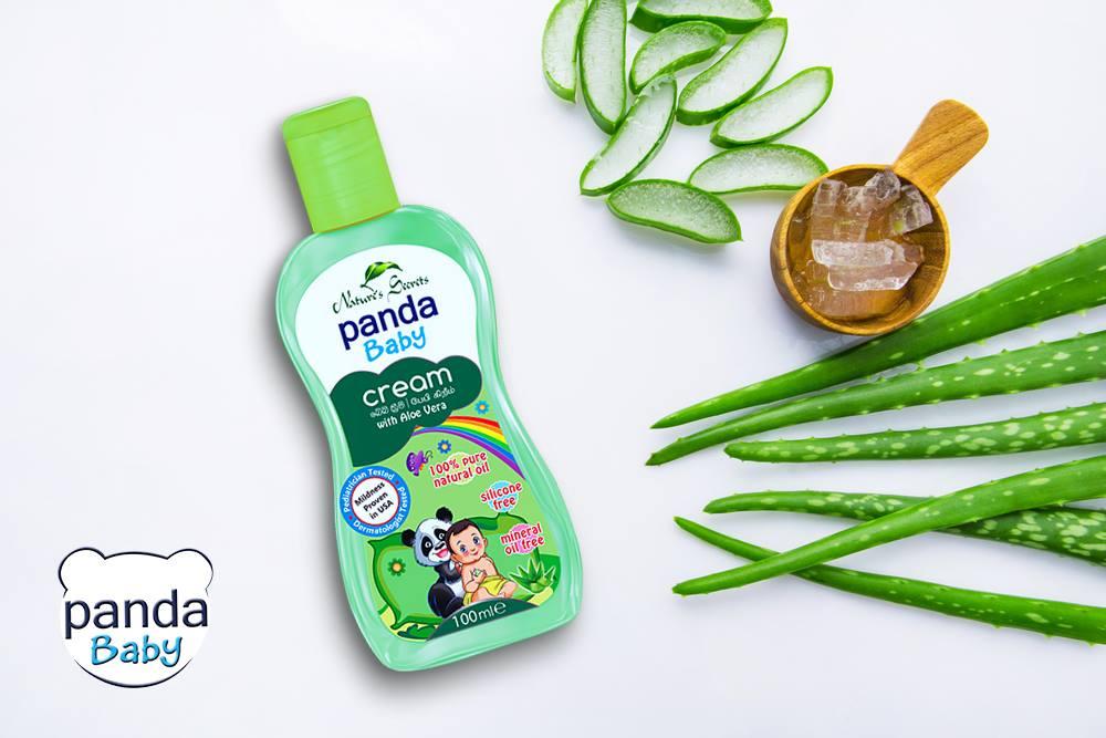 Kem dưỡng da cho bé Panda Baby Cream with Aloe Vera