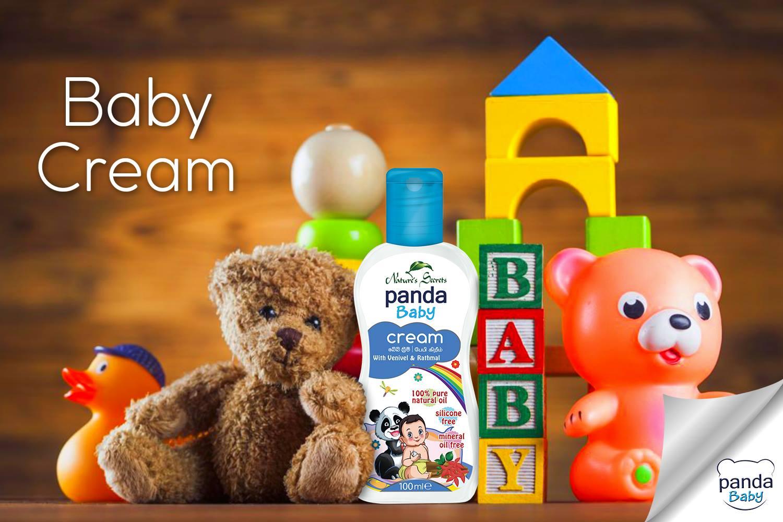 Kem dưỡng da cho bé Panda Baby Cream With Venivel and Rathmal