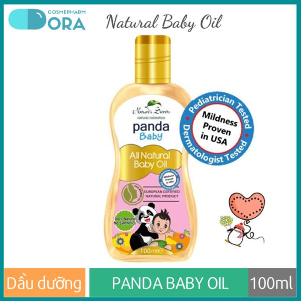 Dầu dưỡng da cho bé Panda Baby Oil