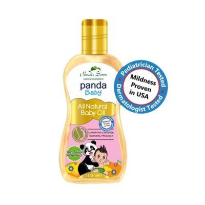Dầu dưỡng da cho bé Panda Baby Oil 100ml