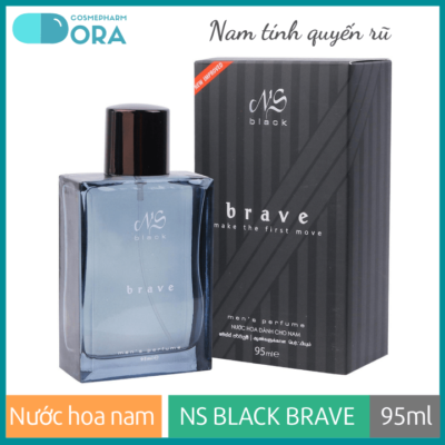 Nước hoa nam NS Black Brave 95ml (Smoky Flame)