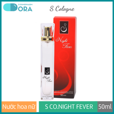 Nước hoa nữ S Cologne Night Fever 50ml (Crimson)