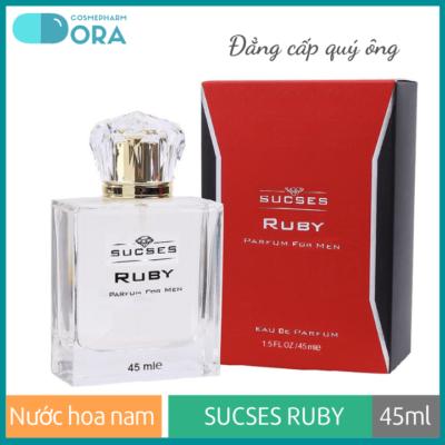 Nước hoa nam Sucses Ruby 45ml (Lava Thermal)