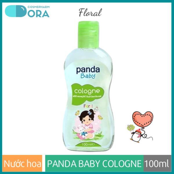 Nước hoa cho bé Panda Baby Cologne Floral
