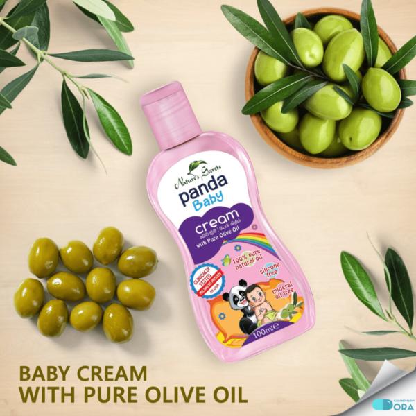 Kem dưỡng da cho bé Panda Baby Cream With Pure Olive Oil